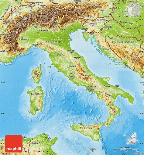 geographical map of italy physical features of italy search engine at search