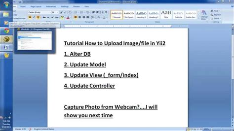 yii2 default layout file tutorial how to upload file or image in yii2 youtube