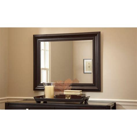 36 x 30 mirror for bathroom martha stewart living saranac 36 in x 30 in framed