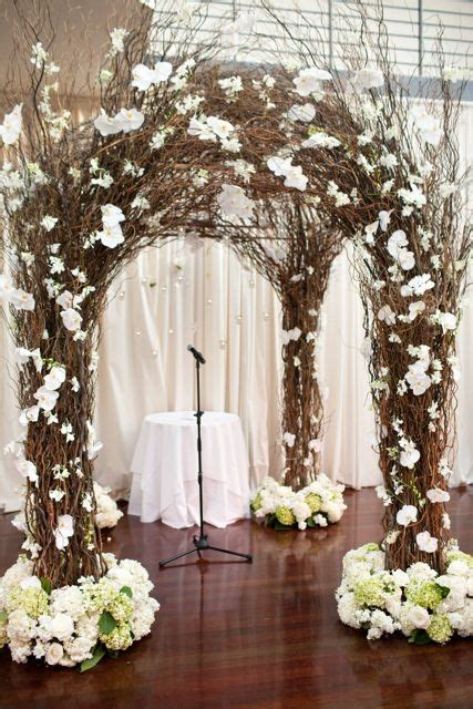 Wedding Arch Made Of Sticks by Anyone Any Ideas On How To Make A Twig Arch Arbor