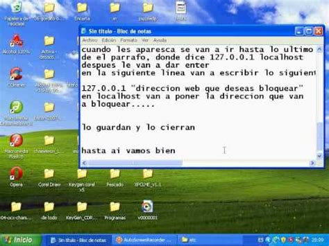 Tutorial para bloquear y desbloquear paginas web - YouTube