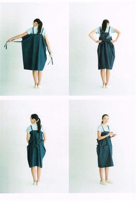 Dress Mao Mao apron apron dress by mao waragai japanese sewing