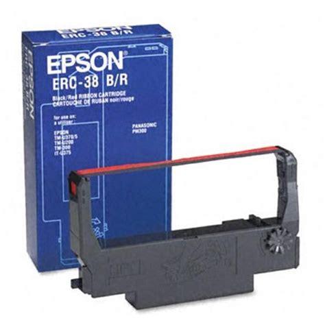 Hologram Ribbon Cartridge Erc 38 Black And epson erc38br fabric ribbon cartridge black