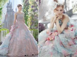 Wedding Dresses In London The Real Princess Worthy Combination 18 Stunning Gowns In Pink Blue Praise Wedding