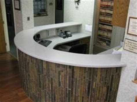 Tiled Reception Desk by 1000 Images About Reception Desk Ideas On