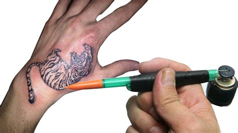 tattoo easy to make awesome life hack how to make a electric tattoo machine