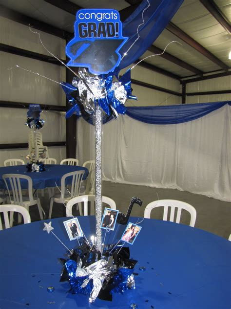 homemade graduation centerpieces party people
