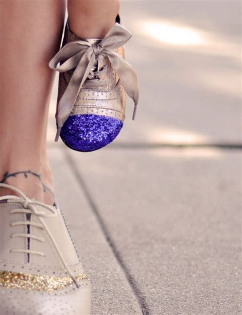 diy glitter shoes 52 shoe makeovers ideas you can do