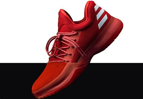 www red adidas harden vol 1 triple red and cactus kid