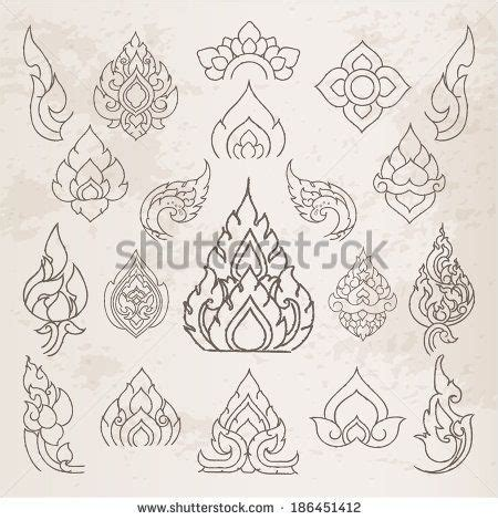 doodle pattern illustrator doodle thai arts pattern and design elements and page