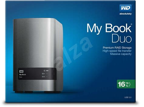 Sale Wd My Book Duo Hdd Eksternal 3 5 4tb Usb3 0 Gray wd my book duo 16tb external drive alzashop