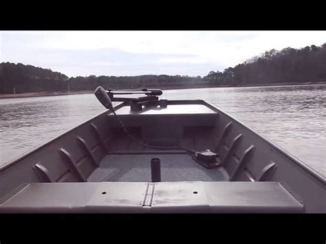 16 ft open boat 16 ft jon boat paired with mercury 15 hp youtube
