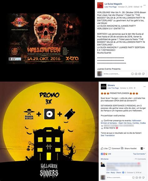 Fb Sweepstakes - ideas for spooky halloween promotions on facebook