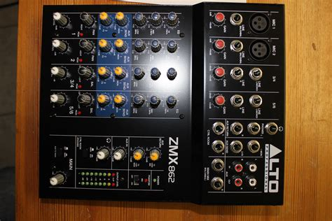 Mixer Alto Zmx 862 alto professional zmx862 image 744030 audiofanzine