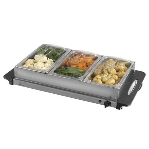 heated buffet servers warming trays electric