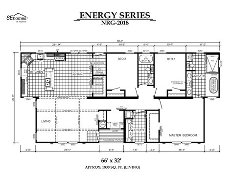 southern energy homes floor plans southern energy mobile home floor plans