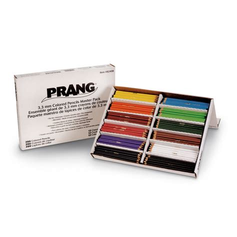 prang colored pencils prang 174 colored pencil master pack pkg of 288 colored
