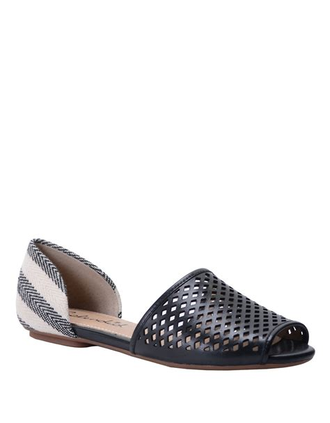 d orsay flat shoes splendid addisan leather d orsay flats in black lyst