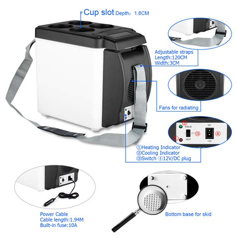 mini car cooler and warmer portable fridge car cooler warmer electric mini travel