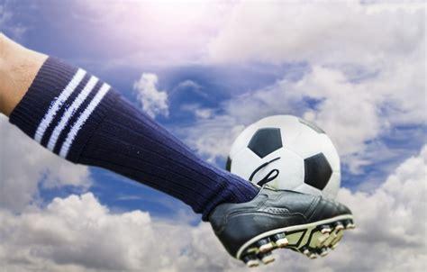 kick wallpaper for pc wallpaper soccer ball sky kick images for desktop