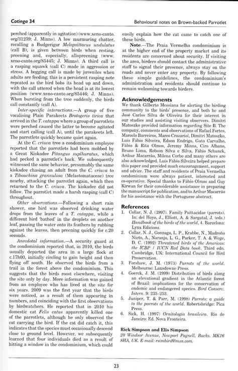 Rick Simpson Birding: Publications