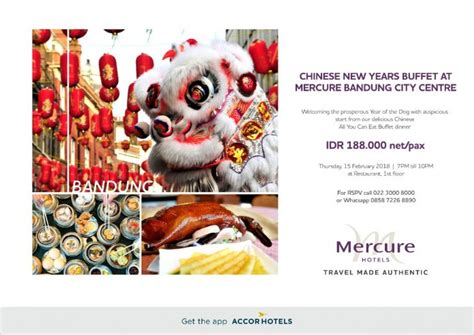 new year dinner bandung 2018 new year s buffet dinner di mercure bandung city