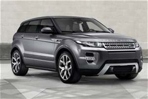 average price of a land rover used land rover range rover evoque price guide average
