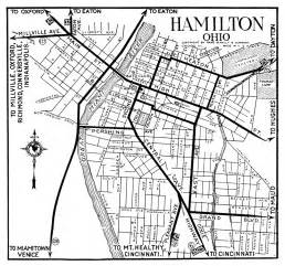 Hamilton Ohio Map by Ohio City Maps At Americanroads Us