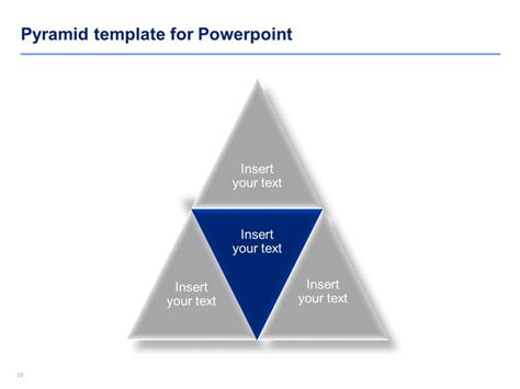 18 Best Powerpoint Pyramid Diagram Templates By Ex Deloitte Designers Images On Pinterest Pyramid Powerpoint Template