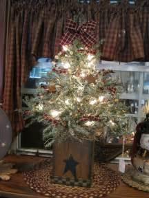 1000 ideas about primitive christmas tree on pinterest