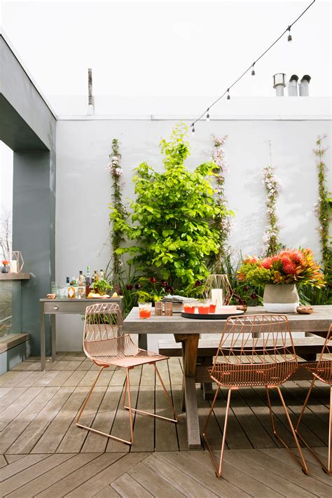 ideas  outdoor dining rooms sunset magazine
