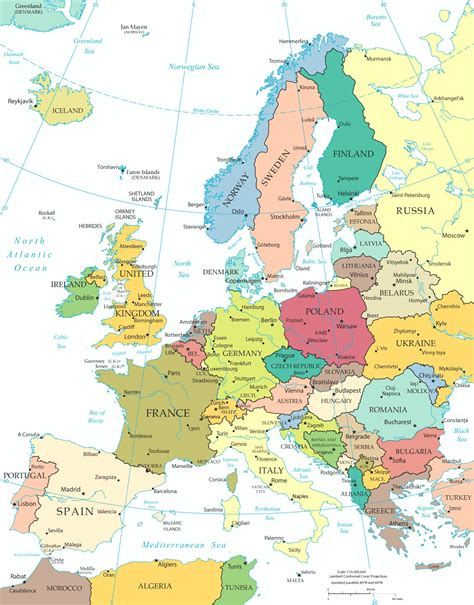 germany europe map map of italy and germany with cities frtka