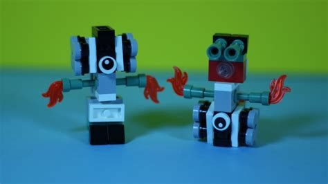 lego robot tutorial build lego mini robot tutorial mini moc youtube