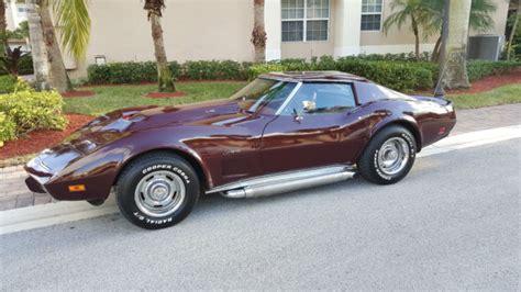 1976 corvette stingray t top 1976 chevrolet corvette stingray manual t top side