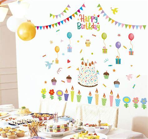 happy birthday decoration design aliexpress com buy fundecor diy home decor new design