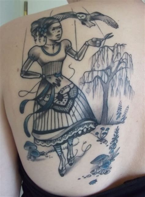 marionette tattoo designs pictures to pin on pinterest