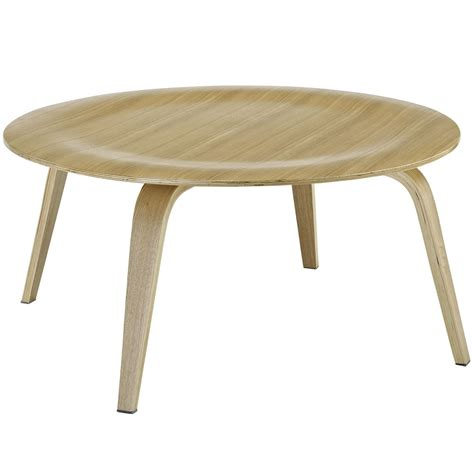 Plywood Coffee Table Plywood Modern Wood Grain Panel Coffee Table