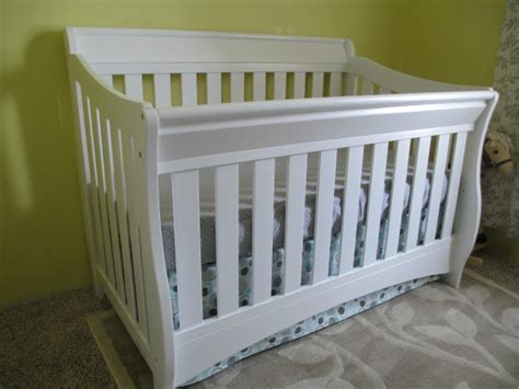 Diy Adjustable Crib Skirt Scott Family Homestead Crib Bed Skirt Diy