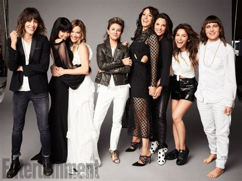L Work by Ew Reunites The L Word Cast Honestly This Is The Best
