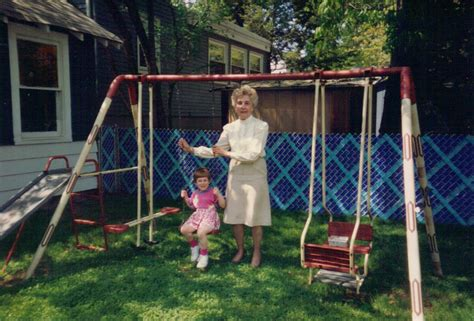 old metal swing set 1975 40 thoughts in 40 days