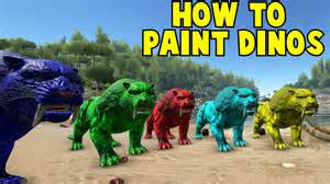 how to paint in ark insured by