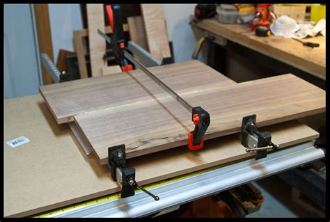 table saw jointer jig table saw jointing jig great for guitars project electric guitar