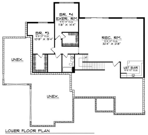 european style floor plans european style house plan 4 beds 3 baths 3771 sq ft plan