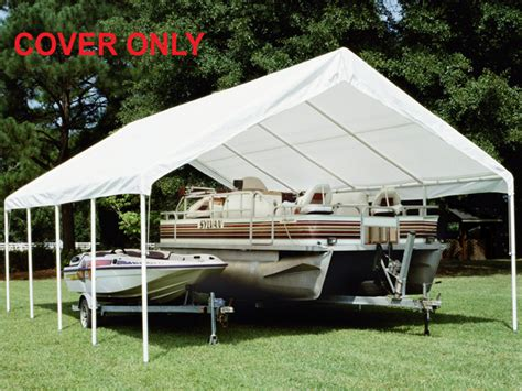 King Awnings by King Canopy White Replacement Tarp With Drawstrings For