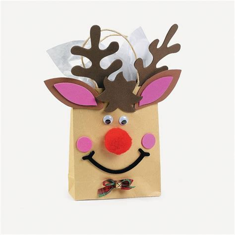 Reindeer Paper Crafts - 290 best paper bag crafts images on paper