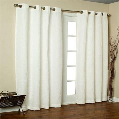 white blackout drapes white grommet blackout curtains signature white grommet