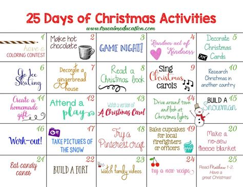 christian advent calendars to make 25 days of activities advent calendar true aim