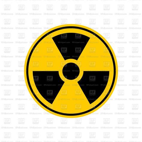 radiation danger sign vector image  signs symbols maps