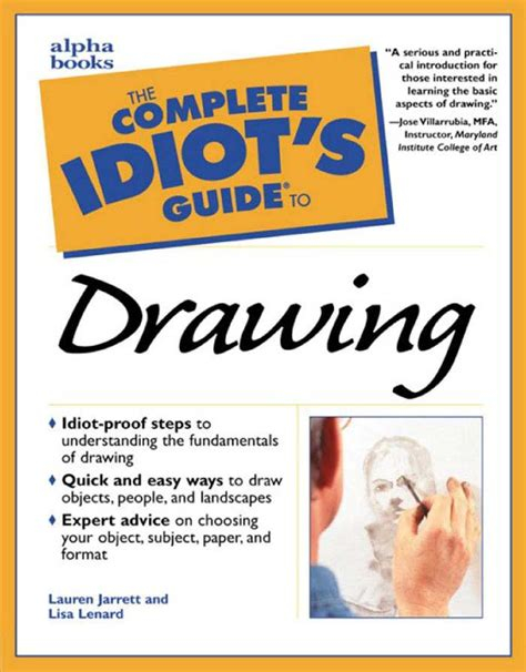 drawing complete question answer handbook books calam 233 o the complete idiots guide to drawing