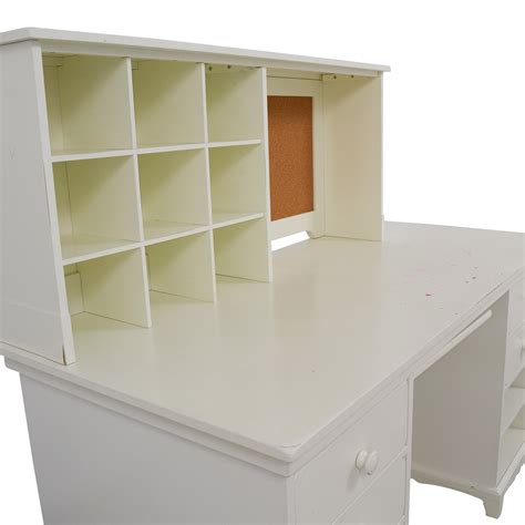 pottery barn white desk 55 pottery barn pottery barn white desk with cubby